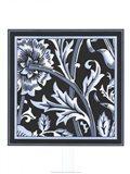 Blue & White Floral Motif IV