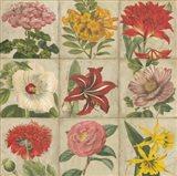 Vintage Flower Grid
