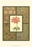 Textile with Floral I