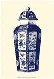 Manor Porcelain In Blue III
