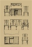 English Chippendale Furniture
