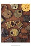 Antique Lock Collage