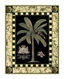 Bordered Palms on Black II