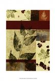 Leaf Print Collage (U) IV