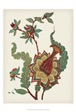 Small Jacobean Floral I