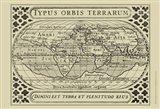 Vintage Map on Khaki II
