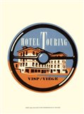 Vintage Travel Label IV
