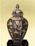 Oriental Blue Vase II