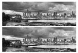 Skyscape City Panorama