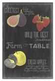 Blackboard Fruit III