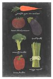 Blackboard Veggies I