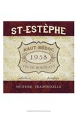 Burgundy Wine Labels III