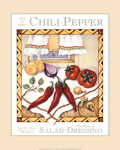 Southwest Salad Dressing Poster by Unknown for $18.75 CAD