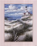 Lighthouse with Sand Dunes