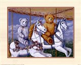 Bears Riding a Carousel