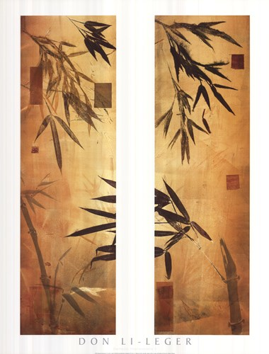 Bamboo Impressions II Poster by Don Li-Leger for $56.25 CAD