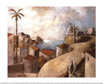 Camino del Faro Poster by Didier Lourenco for $10.00 CAD