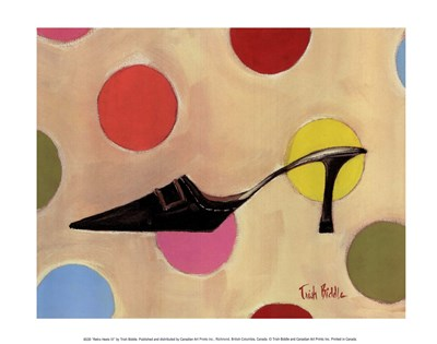 Retro Heels III Poster by Trish Biddle for $10.00 CAD