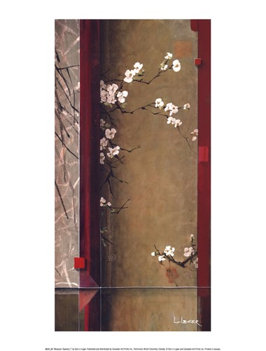 Blossom Tapestry I Poster by Don Li-Leger for $12.50 CAD
