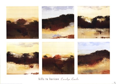 Hills to Horizon Poster by Carolyn Emole for $72.50 CAD