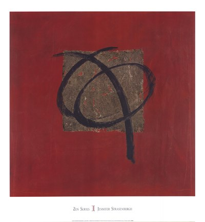 Zen Series I Poster by Jennifer Strasenburgh for $47.50 CAD