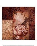 Linen Roses I