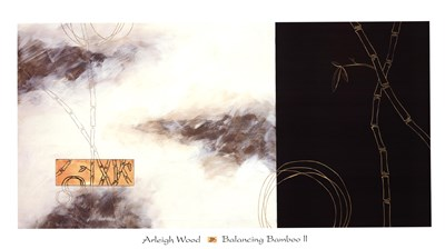 Balancing Bamboo II Poster by Arleigh Wood for $68.75 CAD