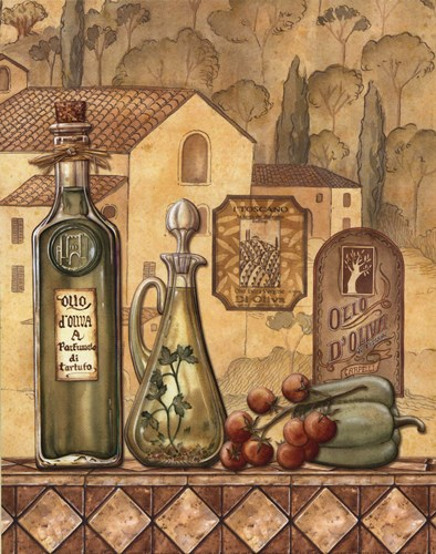 Flavors Of Tuscany III - Mini Poster by Charlene Audrey for $10.00 CAD