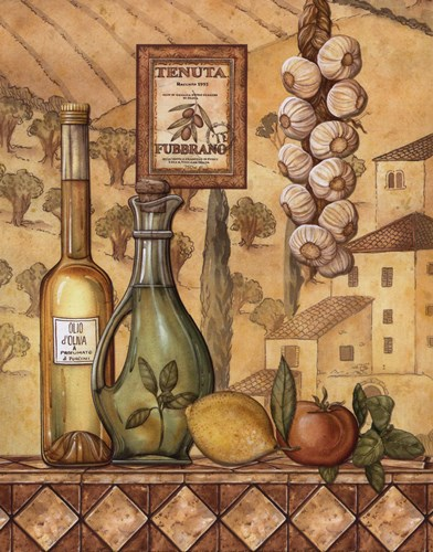 Flavors Of Tuscany IV - Mini Poster by Charlene Audrey for $10.00 CAD