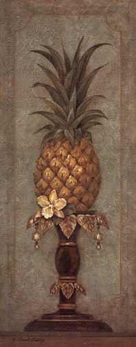 Pineapple and Pearls II Poster by Pamela Gladding for $27.50 CAD