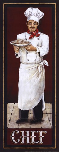 Chef Poster by Gregory Gorham for $16.25 CAD