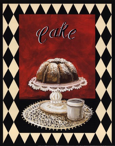 Desserts I Poster by Gregory Gorham for $10.00 CAD