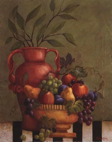 Fresco Fruit I - mini Poster by Jillian Jeffrey for $10.00 CAD