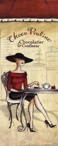 Chocolatier Poster by Andrea Laliberte for $15.00 CAD