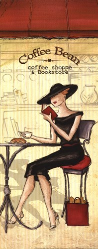 Cafe Poster by Andrea Laliberte for $16.25 CAD
