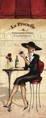 Bistro Poster by Andrea Laliberte for $15.00 CAD