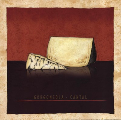 Cheeses III Poster by Andrea Laliberte for $13.75 CAD