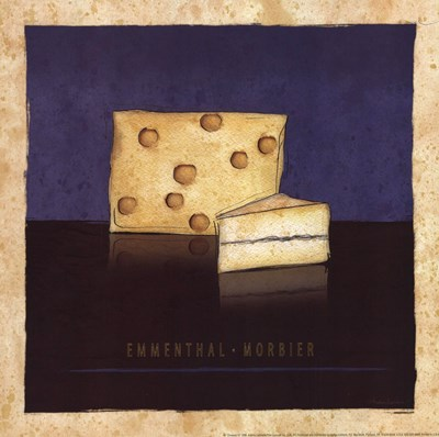 Cheeses IV Poster by Andrea Laliberte for $13.75 CAD