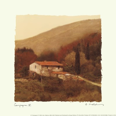 Campagna IV Poster by Amy Melious for $10.00 CAD
