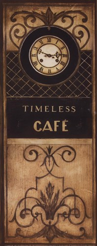 Timeless Cafe - Petite Poster by Kimberly Poloson for $10.00 CAD