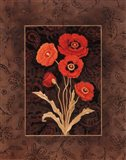 Damask Poppies - Mini