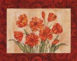 Linen Scroll Tulip