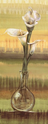 Calla Lilies - mini Poster by Selina Werbelow for $16.25 CAD