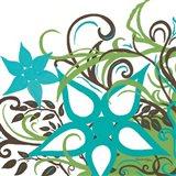 Floral Twist I