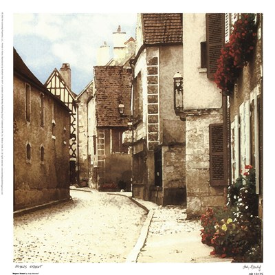 Noyers Street Poster by Judy Mandolf for $13.75 CAD