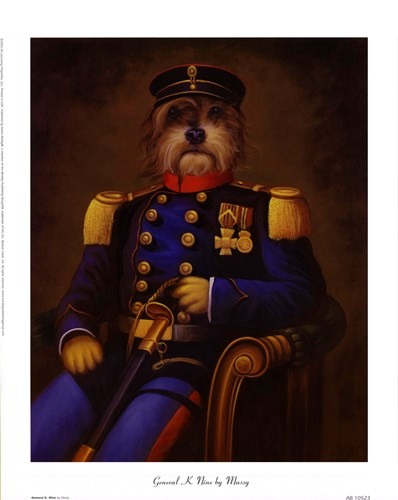 General K. Nine Poster by Massy for $12.50 CAD