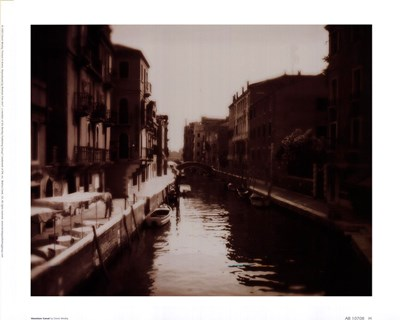 Venetian Canal Poster by David Westby for $18.75 CAD