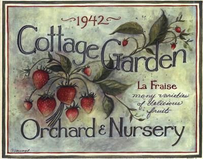 Cottage Garden I Poster by Susan Winget for $11.25 CAD