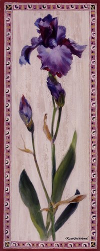 Iris Panel I Poster by Ruth Baderian for $15.00 CAD