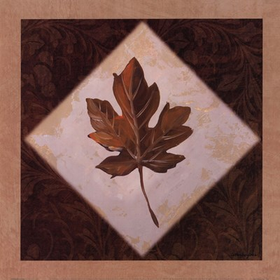 Diamond Leaves I Poster by Catherine Jones for $15.00 CAD